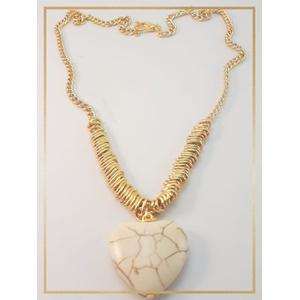 Colar Folheado Ouro 18k Amazona - 449 - MARINA JOIAS