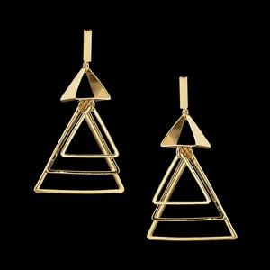 Brinco folheado à ouro 18k Egito - 2202 - MARINA JOIAS