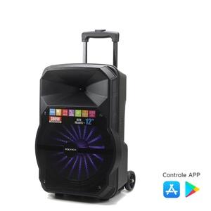 Caixa De Som Amplificada Xc-512 Polyvox Bluetooth Usb 300w W... - POLYVOX