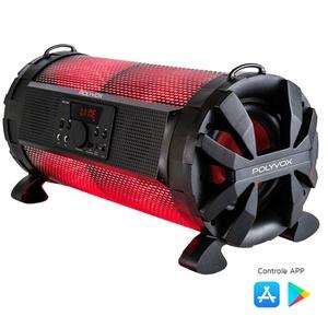 Caixa De Som Amplificada Bazuka Xb-650 Bluetooth 200w De Pot... - POLYVOX