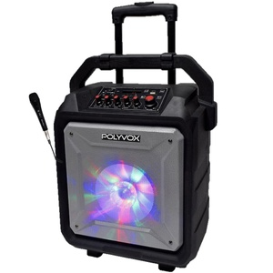 Caixa de Som Amplificada XB450 Polyvox Bluetooth Bateria200w - POLYVOX