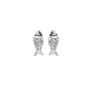 Brinco Baby Fish | Coleção Be Flow - SANTONINA JOIAS