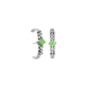 Brinco Ear Hook Organic coleção Ártemis - SANTONINA JOIAS