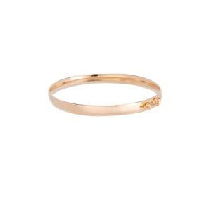 Bracelete Simple Slim Gold   Novidades - SANTONINA JOIAS