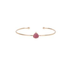 Bracelete Gota de Turmalina Rosa Gold   Novidades - SANTONINA JOIAS