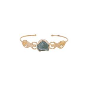 Bracelete Irmãs Água Marinha Dourado | Coleção Gut... - SANTONINA JOIAS