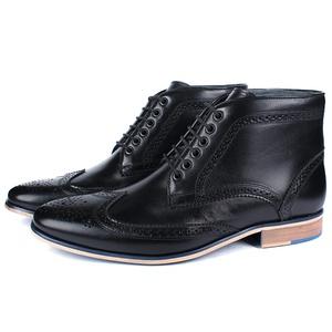 Bota Masculina Ankle Boot Couro Preto Savelli (Sol... - SAVELLI CALÇADOS