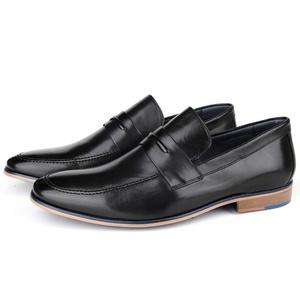 Sapato Masculino Loafer em Couro Preto Savelli - 5... - SAVELLI CALÇADOS