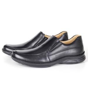 Sapato Comfort Plus em Couro Preto Savelli - 4606 - SAVELLI CALÇADOS