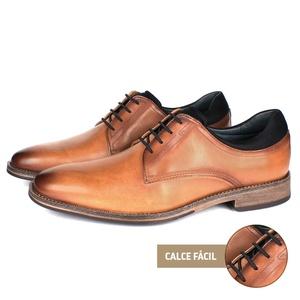 Sapato Masculino Vulcano em Couro Látego Tan Savel... - SAVELLI CALÇADOS