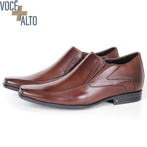 Sapato Up de Calçar em couro Café Savelli - 2663 - SAVELLI CALÇADOS