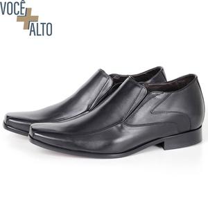 Sapato UP de Calçar em Couro Preto Savelli (Solado... - SAVELLI CALÇADOS