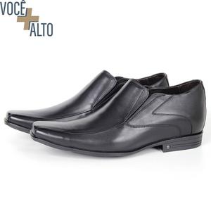 Sapato Up de Calçar em couro Preto Savelli - 2663 - SAVELLI CALÇADOS