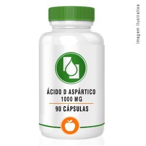 Ácido D Aspártico 1000mg 90cápsulas