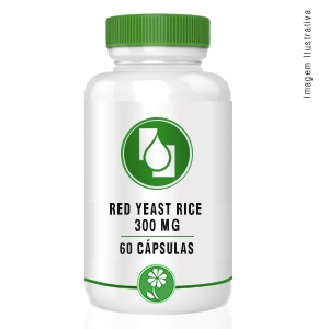 Red Yeast Rice 300mg 60cápsulas