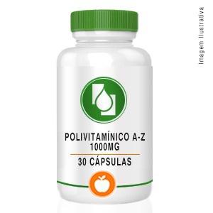 Polivitamínico A-Z 1000mg 30cápsulas