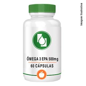 Ômega 3 EPA500mg 60cápsulas