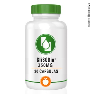 GliSODin® 250mg 30cápsulas