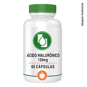 Ácido Hialurônico 125mg 60cápsulas