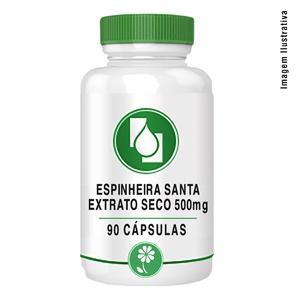 Espinheira Santa ext seco 500mg 90cápsulas