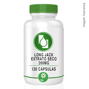 Long Jack Extrato Seco 200mg 120cápsulas