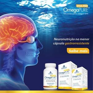 Omegapure DHA 500mg 60 cápsulas