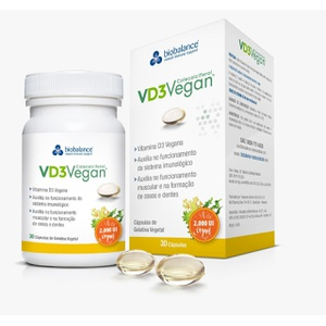 VD3 Vegan® 2000UI 30cápsulas