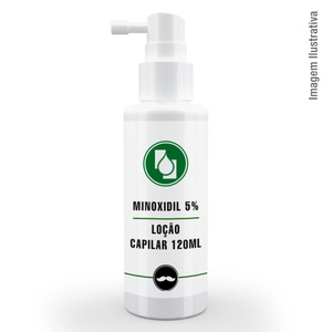 Minoxidil 5% Loção capilar 120ml