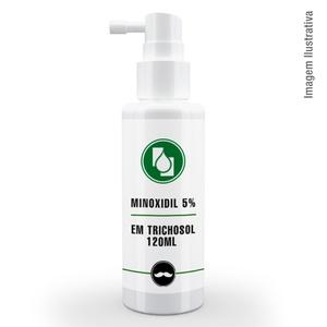 Minoxidil 5% em Trichosol 120ml