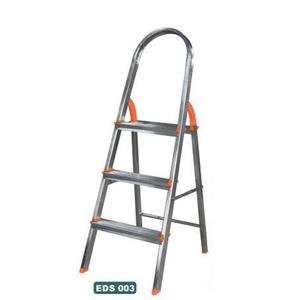 Escada Doméstica Alumínio Abrir 03 Degraus Agata - Só Aqui Ferramentas