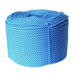 Corda Nylon Torcida Azul 16mm Rolo 220m 25Kg - Só Aqui Ferramentas