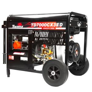 Gerador Toyama TD7000CX3ED Trifásico Diesel 220V - Só Aqui Ferramentas