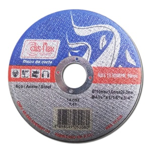 Disco de Corte Dis-Flex 110x1,6x20mm 14053 Ferro - Só Aqui Ferramentas