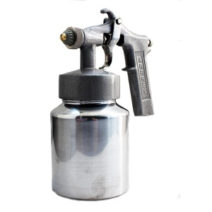 Pistola De Pintura Ar Direto Pressão Alumínio Mode... - Só Aqui Ferramentas