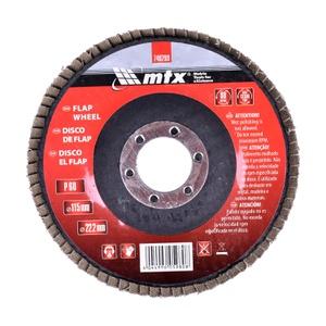 Disco Lixa Flap 4.1/2 115x22mm 740289 Grão 60 Mtx