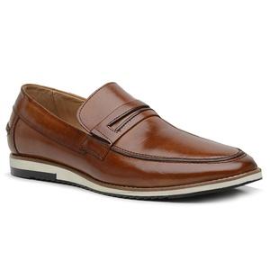 Sapato Loafer Premium em Couro Caramelo - 24536 - ... - TCHWM SHOES