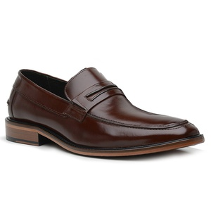 Sapato Loafer Premium em Couro Mouro - 24536 - TCHWM SHOES