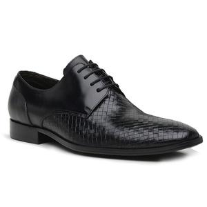 Sapato Social Tressê Premium em Couro Preto - 3220... - TCHWM SHOES