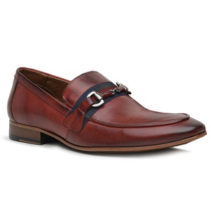 Sapato Loafer Casual Premium em Couro Mouro - 5885... - TCHWM SHOES