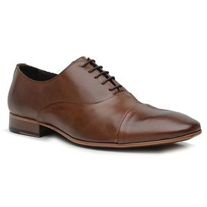 Sapato Social Premium em Couro Marrom - 60078 - MA... - TCHWM SHOES