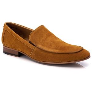 Sapato Loafer Casual Premium em Couro Camurça Ferr... - TCHWM SHOES