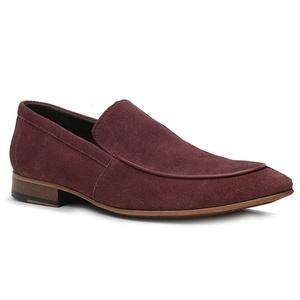 Sapato Loafer Casual Premium em Couro Camurça Bord... - TCHWM SHOES