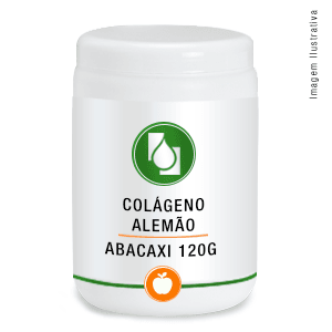 Colágeno Alemão 2,5g/dose Abacaxi 120g
