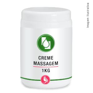 Creme p/massagem 1kg