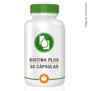 Biotina Plus 30cápsulas
