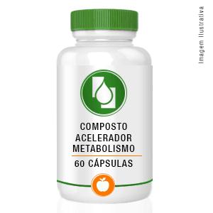 Composto Acelerador Do Metabolismo 60cp