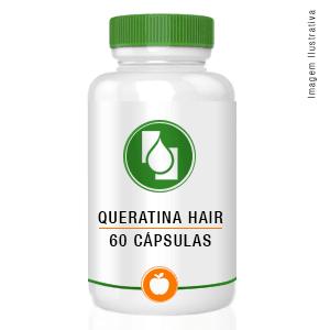 Queratina Hair 60cápsulas