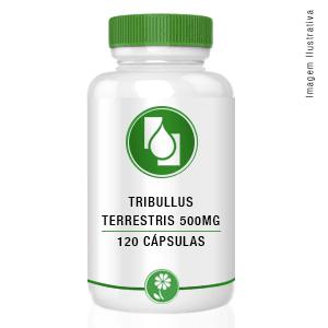 Tribulus Terrestris Extrato Seco 500mg 120 cápsulas