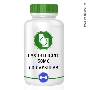 Laxosterone 50mg 60cápsulas