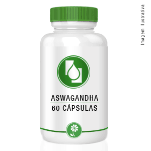 Aswagandha Extrato Seco 300mg 60cápsulas